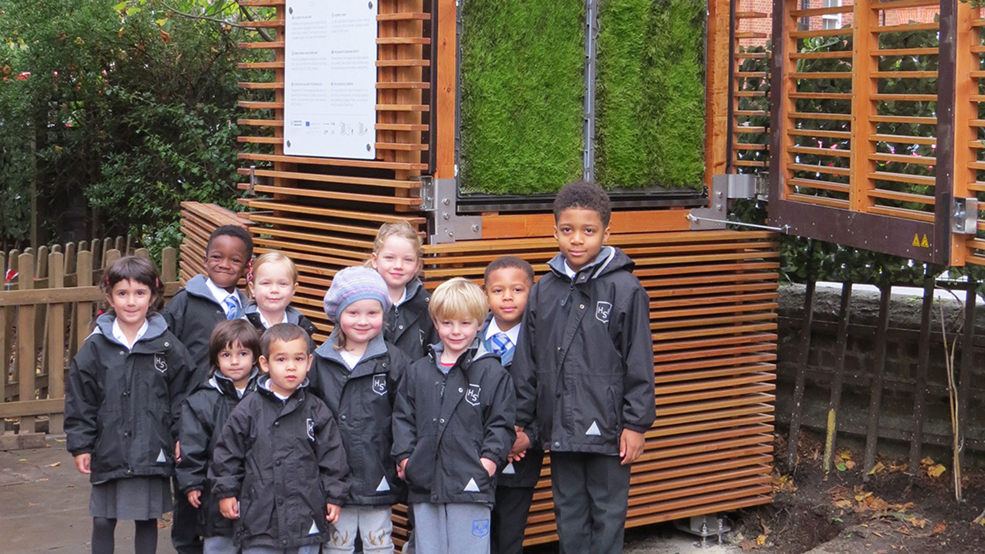 School as a use-case for CityTrees